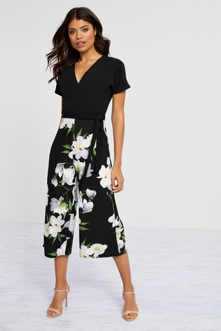 Lipsy 2 In 1 Floral Jumpsuit