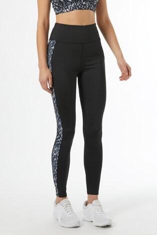 Dorothy Perkins Monochome Scratchy Print Yoga Legging