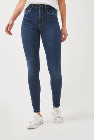 Only Blue Skinny Jeans