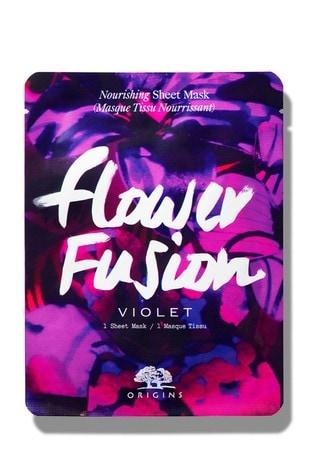 Origins Flower Fusion Hydrating Sheet Mask - Violet