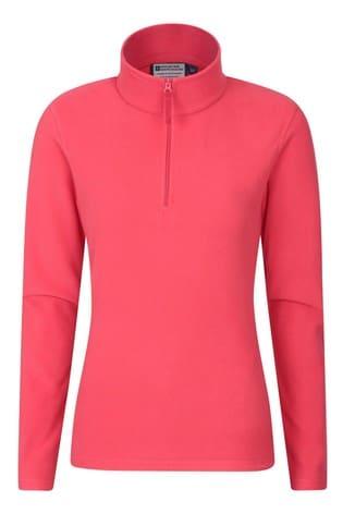Mountain Warehouse Coral Camber Womens Half-Zip Fleece