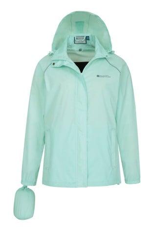 Mountain Warehouse Mint Pakka Womens Waterproof Jacket