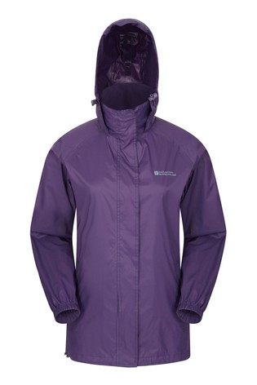 Mountain Warehouse Purple Pakka Womens Waterproof Jacket