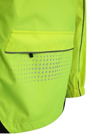 Mountain Warehouse Yellow Adrenaline Womens Waterproof Iso-Viz Jacket