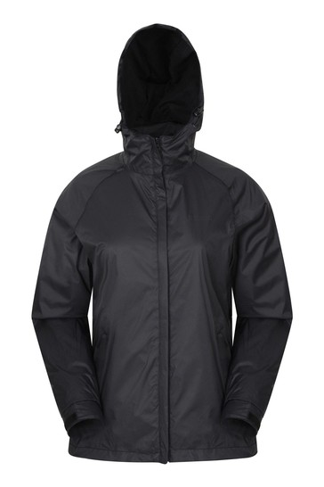 Mountain Warehouse Black Torrent Womens Waterproof Jacket