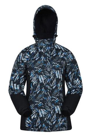 Mountain Warehouse Black Dawn Womens Printed Ski Jacket