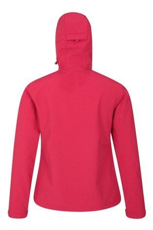Mountain Warehouse Red Exodus Womens Softshell Jacket