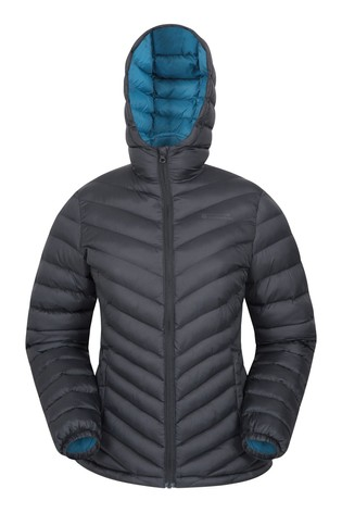 Mountain Warehouse Jet Black Seasons Womens Padded Jacket