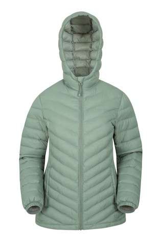 Mountain Warehouse Khaki Seasons Womens Padded Jacket