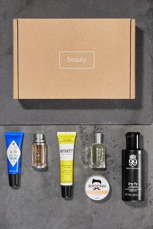 Men's Branded Grooming Box