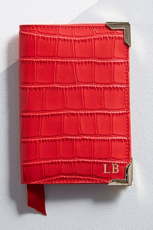Personalised Lipsy Mock Croc Leather Passport Cover By Koko Blossom