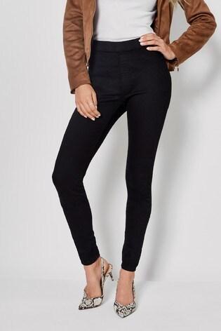 Dorothy Perkins Black Tall Eden Skinny Jeans