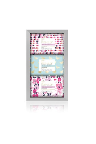 Baylis & Harding Fuzzy Duck Cotswold Floral 3 Soap Set