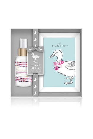 Baylis & Harding Fuzzy Duck Cotswold Floral Photo Frame Gift Set