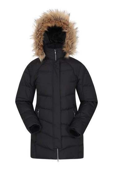 Mountain Warehouse Black Isla Ii Womens Down Jacket