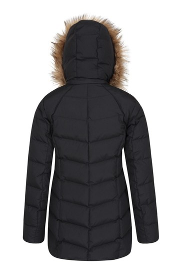 Mountain Warehouse Black Isla Ii Womens Down Jacket