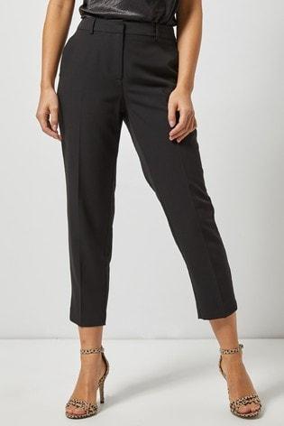 Dorothy Perkins Black Naple Ankle Trousers