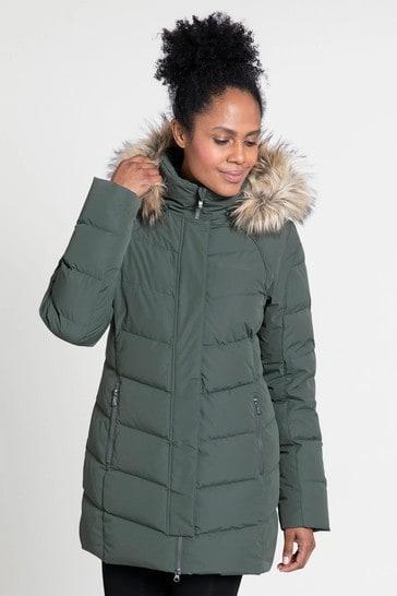 Mountain Warehouse Khaki Isla Ii Womens Down Jacket