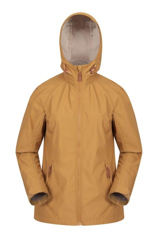 Mountain Warehouse Yellow Iona Womens Softshell Jacket
