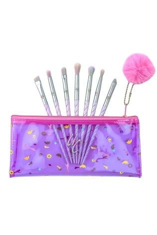 Unicorn Cosmetics Class Of 86' 7 Piece Eye Makeup Brush Kit