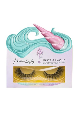 Unicorn Cosmetics Rebel Smoke Faux Silk Lashes