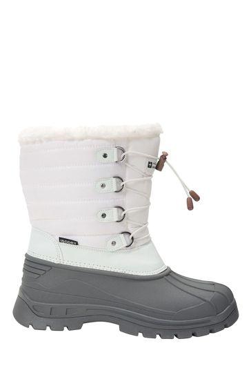 Mountain Warehouse White Whistler Womens Snow Boots