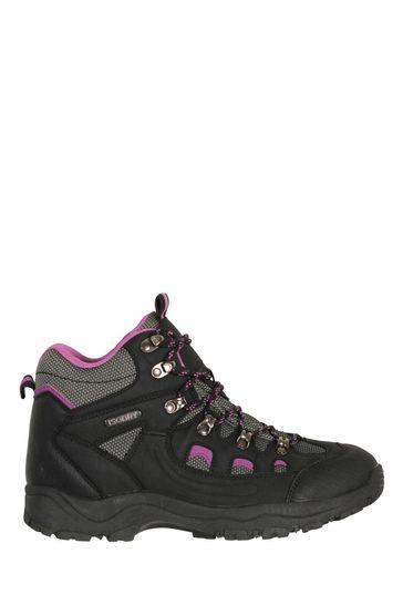 Mountain Warehouse Black Adventurer Womens Waterproof Boots