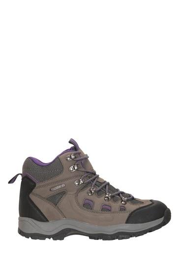 Mountain Warehouse Grey Adventurer Womens Waterproof Boots