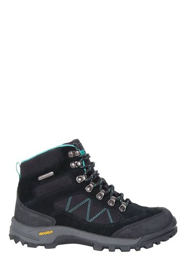 Mountain Warehouse Black Storm Womens Waterproof Isogrip Boots