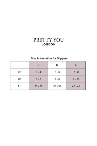 Pretty You London Pink Leopard Danni Mule Slipper