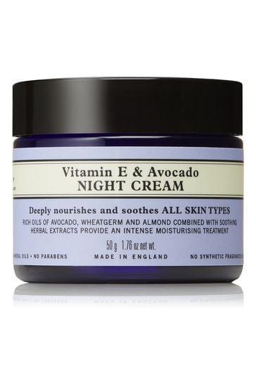 Neals Yard Remedies Vitamin E & Avocado Night Cream 50g