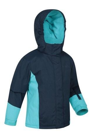 Mountain Warehouse Navy Honey Kids Ski Jacket