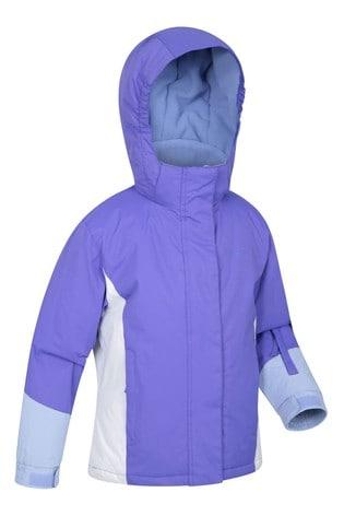Mountain Warehouse Purple Honey Kids Ski Jacket