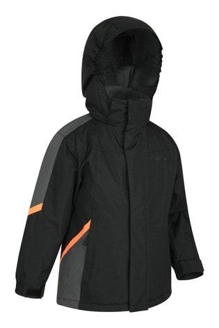 Mountain Warehouse Black Raptor Kids Snow Jacket