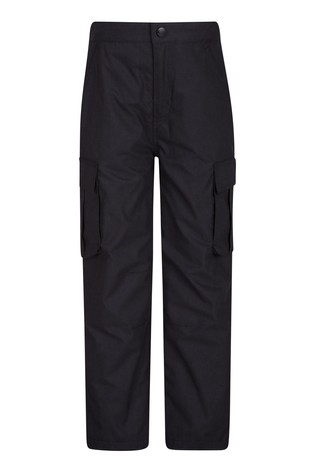 Mountain Warehouse Black Winter Trek Youth Trousers