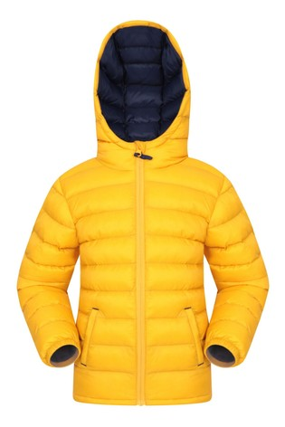 Mountain Warehouse Yellow Seasons Kids Water Resistant Padded Jacket