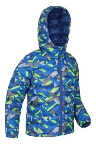 Mountain Warehouse Cobalt Seasons Kids Water Resistant Padded Jacket