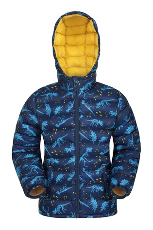 Mountain Warehouse Blue Seasons Kids Water Resistant Padded Jacket