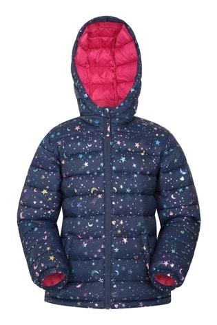 Mountain Warehouse Pink Seasons Kids Water Resistant Padded Jacket