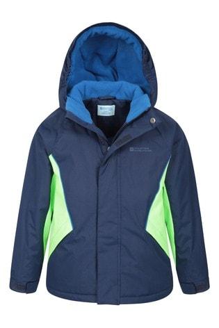 Mountain Warehouse Navy Kids Ski Jacket And Pant Set
