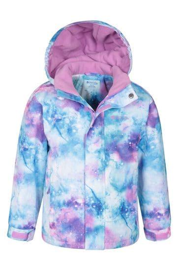 Mountain Warehouse Purple Kids Ski Jacket And Pant Set