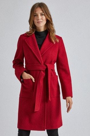 Dorothy Perkins Pocket Wrap Coat