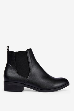 Dorothy Perkins Wide Fit Morgan Chelsea Boots