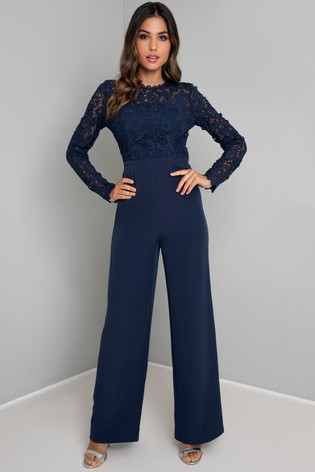 Chi Chi London Embroidered Jumpsuit