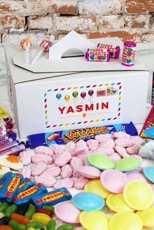 Personalised Happy Birthday Sweet Box by Great Gifts