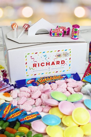 Personalised Congratulations Sweet Box by Great Gifts