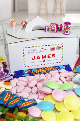 Personalised Thank You Sweet Box by Great Gifts