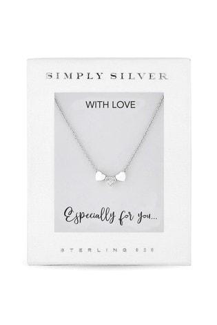 Sterling Silver Triple Heart Pendant