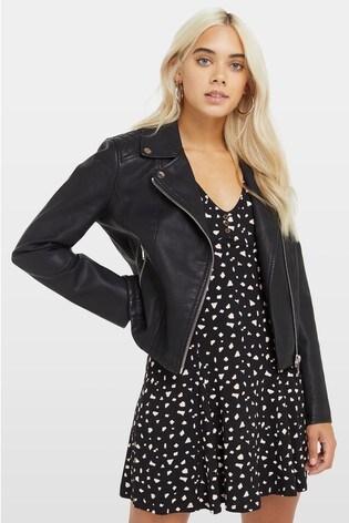 Miss Selfridge Petite Biker Jacket