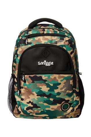 Smiggle Khaki Fresh Backpack